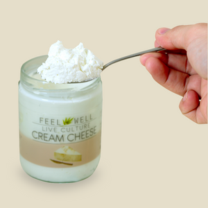 Live Culture Cream Cheese 400 ml: Plain