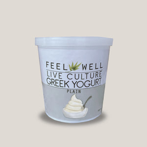 Live Culture Greek Yogurt 400 ml: Plain