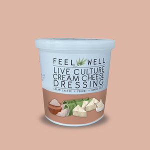 Live Culture Cream Cheese Dressing 400 ml