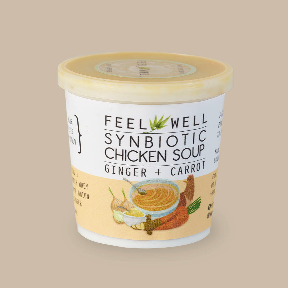Chicken Soup 400 ml: Ginger + Carrot