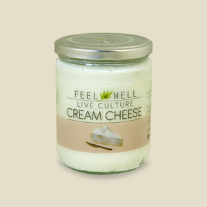 Feel Well: Live Culture Cream Cheese