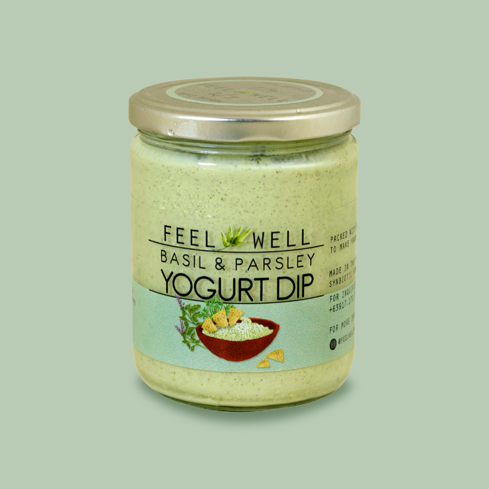 Feel Well: Basil & Parsley Yogurt Dip