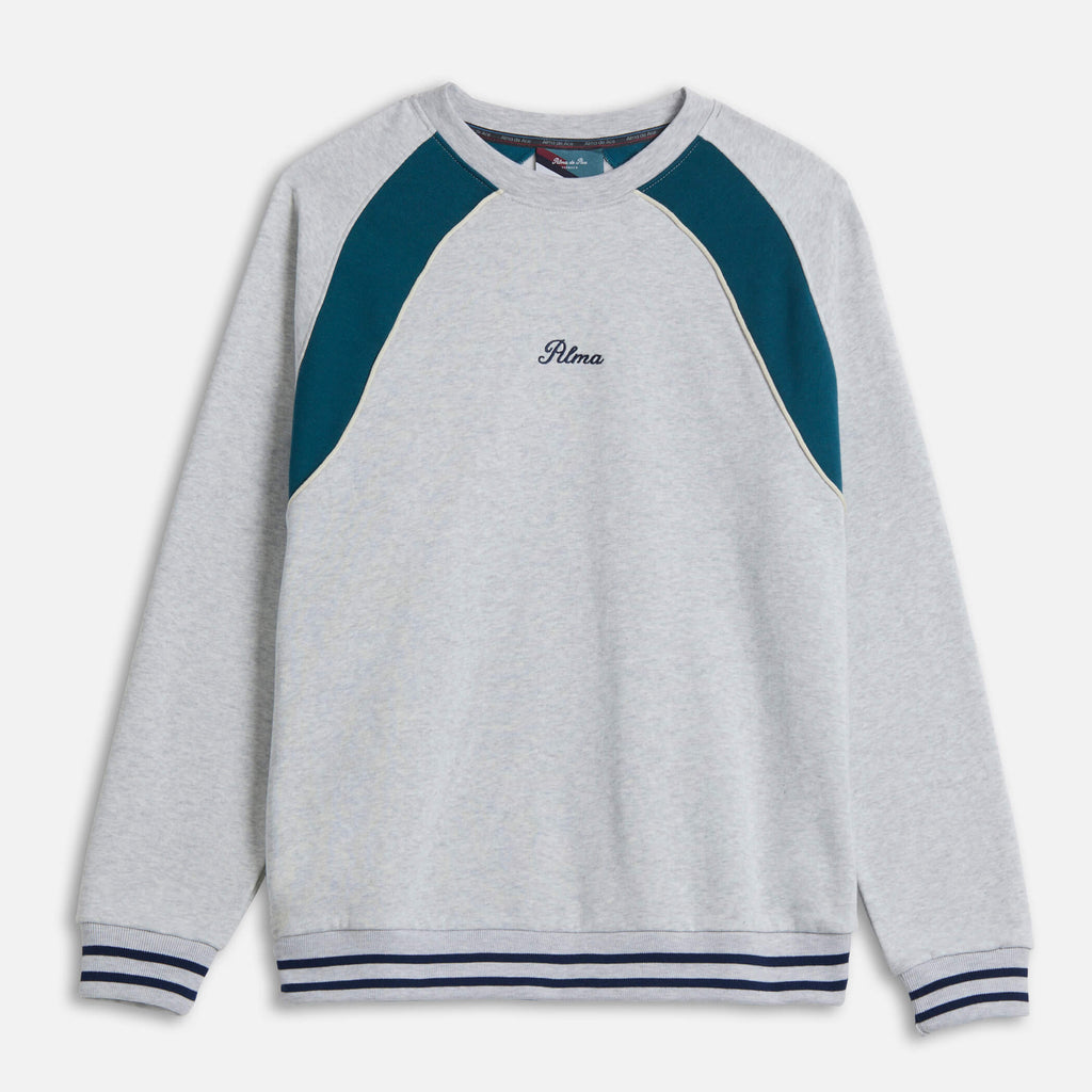 Grey Carmo Panel Sweatshirt