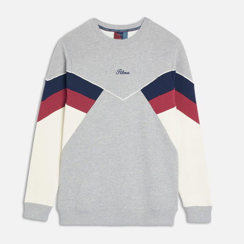Grey Chevron Sweatshirt