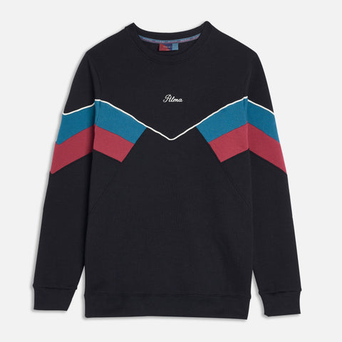 Black Original Chevron Sweatshirt