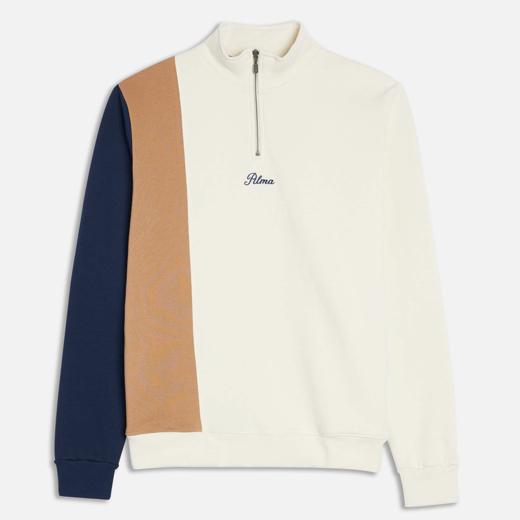 Cream Mock Neck Nola Sweatshirt