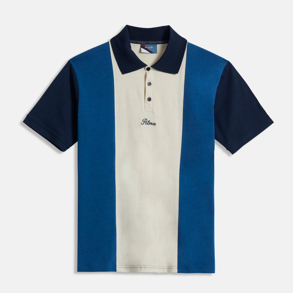 Blue Belmont Polo Shirt