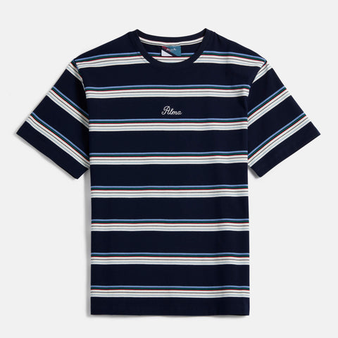 Navy Blue Benita Stripe T-Shirt