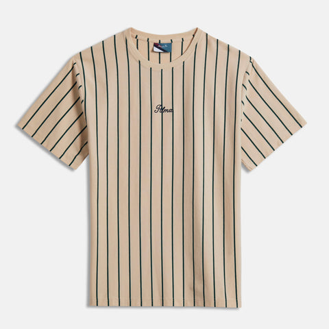 Cream Carita Stripe T-Shirt