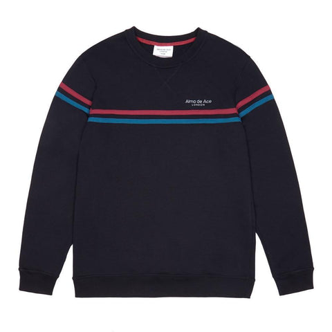 Black Alma Classics Sweatshirt - Alma De Ace London Streetwear
