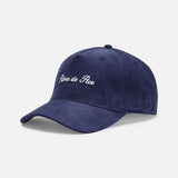 Lotus Blue Corduroy Cap One Size