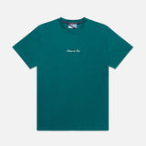 Storm Green Embroidered T-Shirt