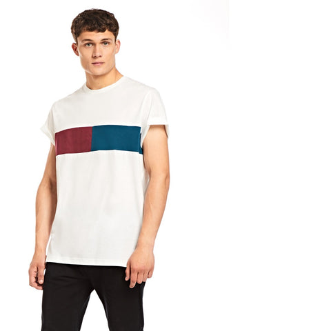 White Centre Panel T-shirt