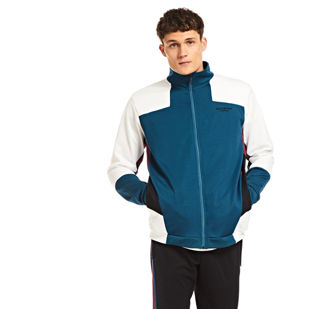 Teal Sports Jacket - Alma De Ace London Streetwear