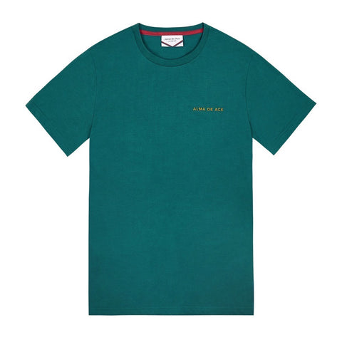 Teal Embroidered T-shirt
