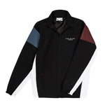 Black Two tone 90s Sports Jacket