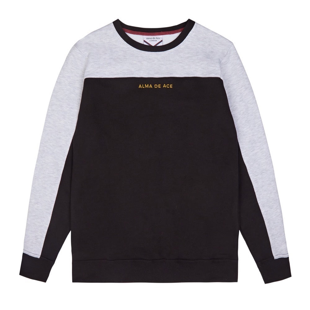 Black / Grey Two Tone Sweatshirt