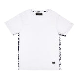 Kintamani T-shirt with Fabric Sides - Alma De Ace London Streetwear