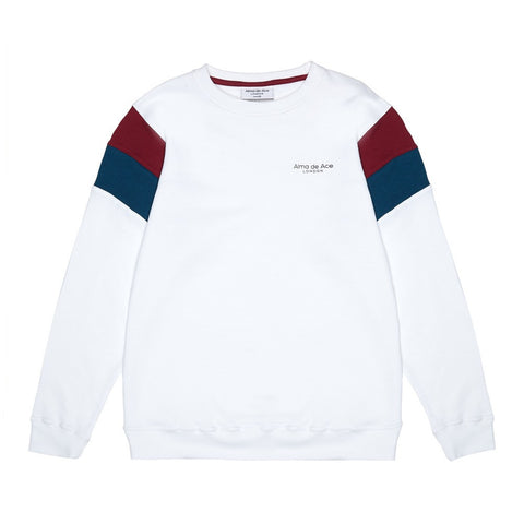 The Original White Retro Sweatshirt