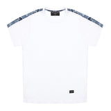 The Nyambu T-shirt with Fabric Sleeves - Alma De Ace London Streetwear