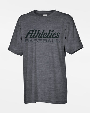 "Diamond Pride Premium Functional T-Shirt ""Attnang Athletics"", Baseball, heather dunkelgrau"