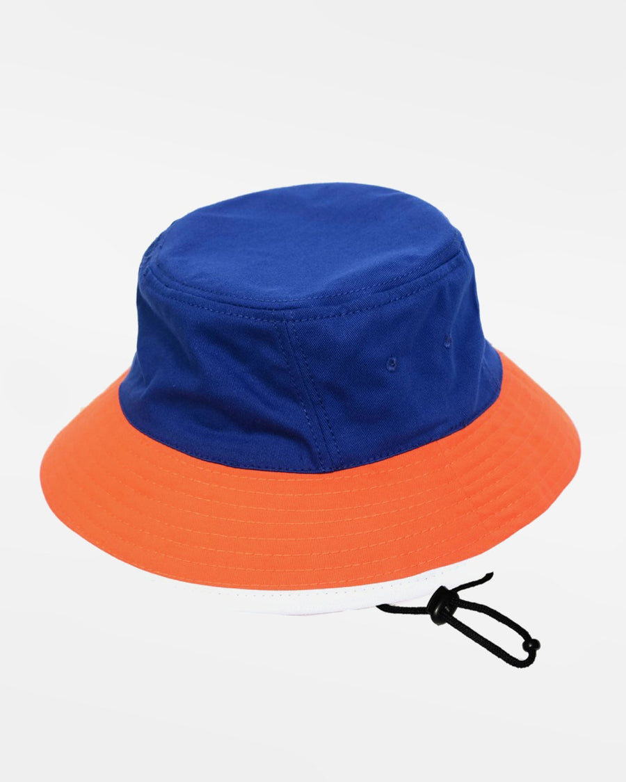 Diamond Pride 2Tone Bucket Hat, royal blau-orange - AUSLAUFARTIKEL -DIAMOND PRIDE