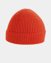 Diamond Pride Basic Knit-Ribbed Beanie, rot-DIAMOND PRIDE