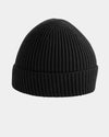 Diamond Pride Basic Knit-Ribbed Beanie, schwarz-DIAMOND PRIDE