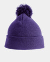 Diamond Pride Basic PomPom Beanie, purple-DIAMOND PRIDE