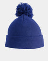 Diamond Pride Basic PomPom Beanie, royal-blau-DIAMOND PRIDE
