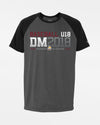 "Diamond Pride Light-Performance Contrast T-Shirt ""DM 2018 Baseball U18 Regensburg"", heather dunkelgrau-schwarz-DIAMOND PRIDE"