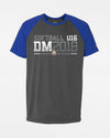 "Diamond Pride Light-Performance Contrast T-Shirt ""DM 2018 Softball U16 Karlsruhe"", heather dunkelgrau-royal blau-DIAMOND PRIDE"