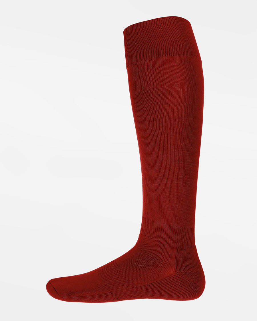 Diamond Pride Premium Baseball Socken, maroon-rot-DIAMOND PRIDE