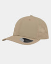 Diamond Pride Premium Light Curved Snapback Cap, beige-DIAMOND PRIDE