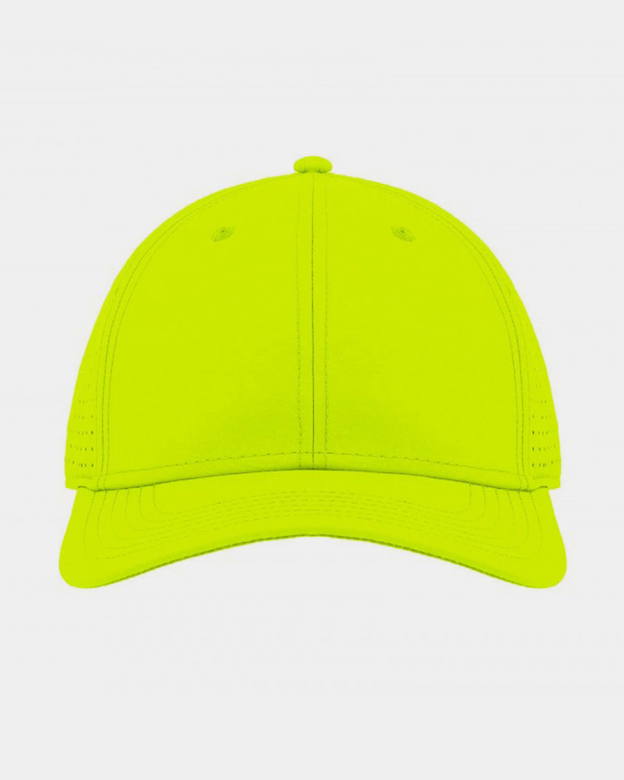 Diamond Pride Premium Light Curved Snapback Cap, neon gelb-DIAMOND PRIDE