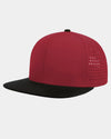Diamond Pride Premium Light Snapback Cap, rot-schwarz-DIAMOND PRIDE