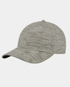 Diamond Pride Streaked Heather Curved Snapback Cap, heather-hellgrau-DIAMOND PRIDE
