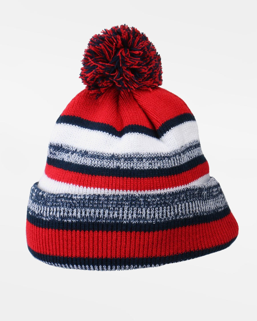 Diamond Pride Striped Premium Beanie, rot-navy blau - AUSLAUFARTIKEL -DIAMOND PRIDE