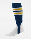 Diamond Pride Striped Stirrup, navy blau-gelb-weiss-DIAMOND PRIDE