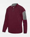 Holloway Augusta 1/4-Zip Warmup Pullover, maroon rot-DIAMOND PRIDE