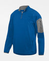 Holloway Augusta 1/4-Zip Warmup Pullover, royal blau-DIAMOND PRIDE