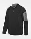 Holloway Augusta 1/4-Zip Warmup Pullover, schwarz-DIAMOND PRIDE