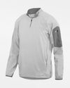 Holloway Augusta 1/4-Zip Warmup Pullover, weiss-DIAMOND PRIDE