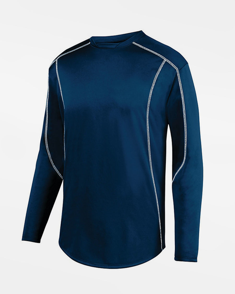 Holloway Augusta Warmup Pullover, navy blau-DIAMOND PRIDE