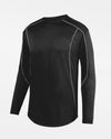 Holloway Augusta Warmup Pullover, schwarz-DIAMOND PRIDE