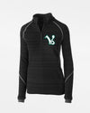 "Holloway Deviate Ladies Warmup Pullover ""Kufstein Vikings"", schwarz-DIAMOND PRIDE"