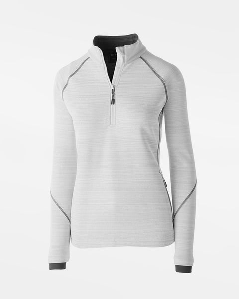 Holloway Deviate Ladies Warmup Pullover, weiss-DIAMOND PRIDE