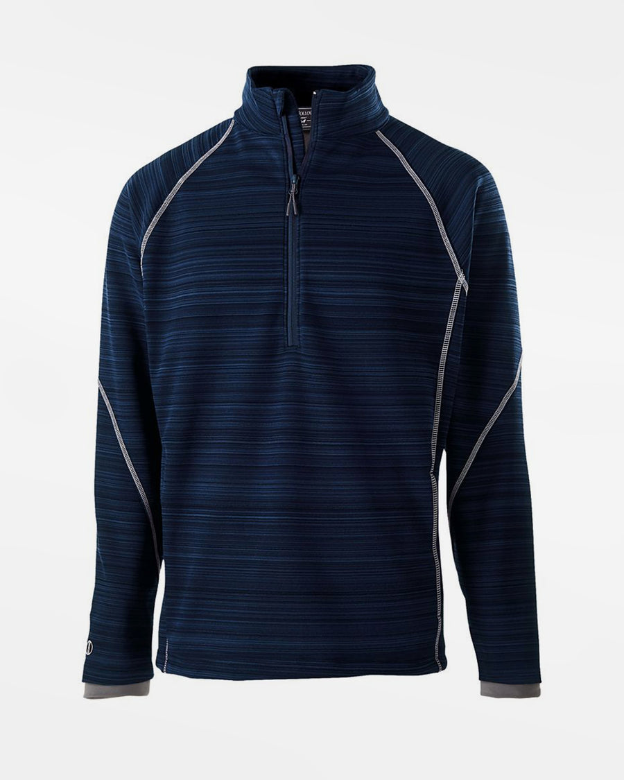 Holloway Deviate Warmup Pullover, navy blau-DIAMOND PRIDE