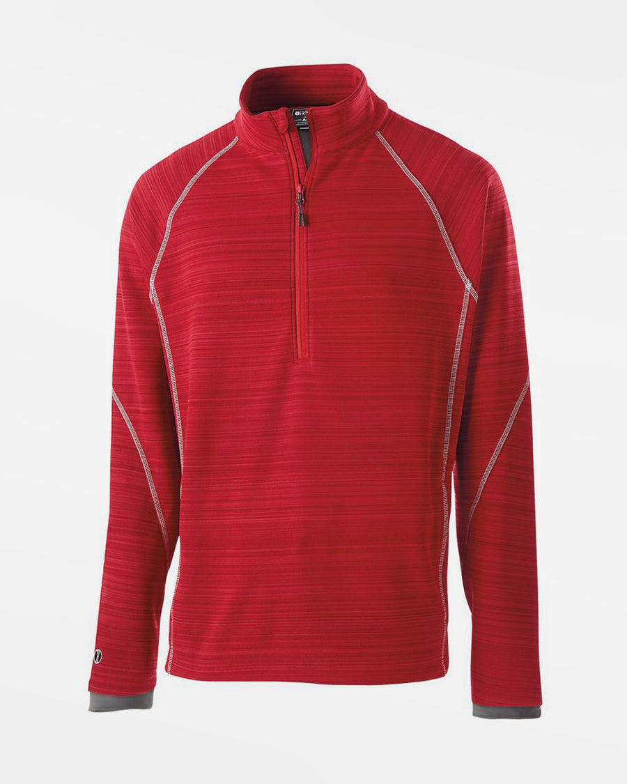 Holloway Deviate Warmup Pullover, rot-DIAMOND PRIDE