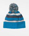 Holloway PomPom-Beanie, blau-weiss-grau-DIAMOND PRIDE